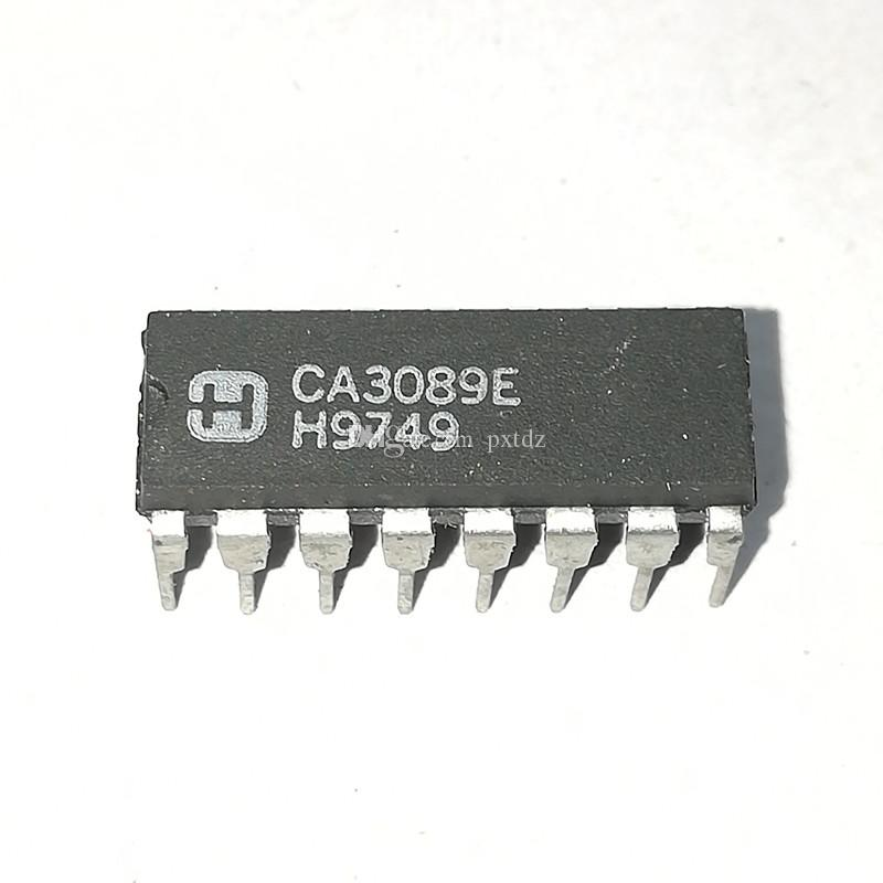 CA3089E   CA3089 / PDIP16   FM, AUDIO DEMODULATOR Integrated circuits ICs /  dual in-line 16 pins plastic package , Electronic Components