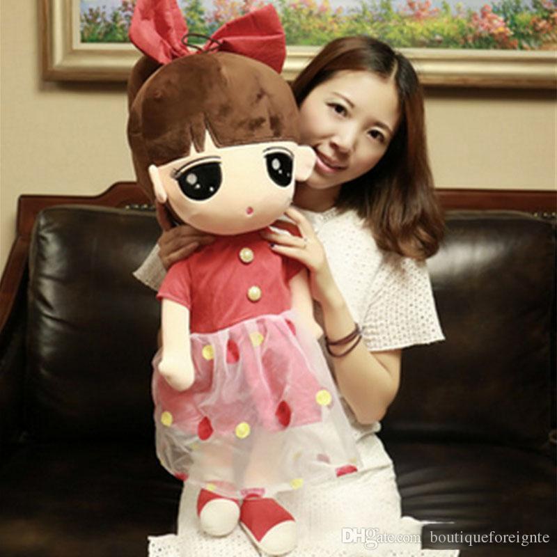 Little Girl Toys : Plush america girls toys big soft stuffed little girl