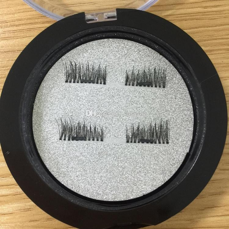 In stock 0.2mm 3D Magnetic False Eyelashes Extension Magnetic Eyelashes Makeup Soft Hair Magnetic Fake Eyelashes with retail packaging