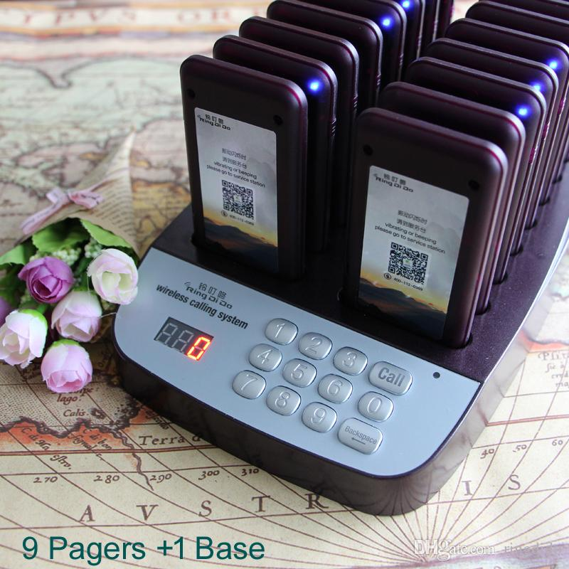 Wireless Restaurant Coaster Pagers 1 9 Guestcall Wireless
