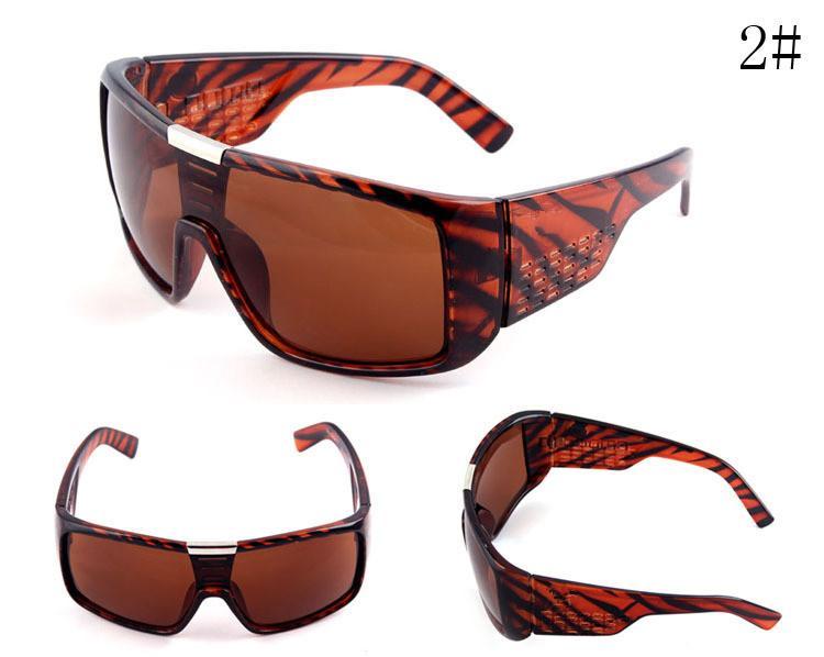 موك = 10 قطع الرجال النظارات العلامة التجارية مصمم oculos دي سول إطار كبير الوجه دومو الرجال الرياضة طلاء نظارات gafas دي سول masculino B2030