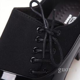 POpular nuevo flanco con cordones negro pu Adhesivo de los hombres de cuero zapatos de vestir de negocios zapatos casuales plisados novio boda zapatos