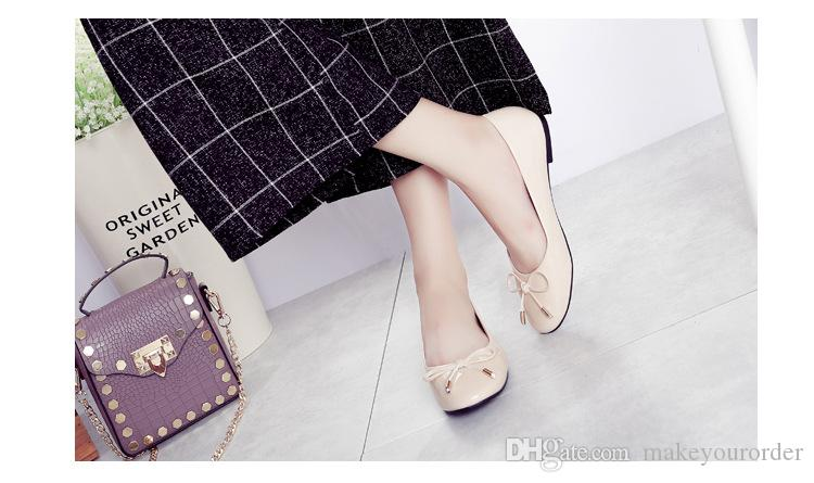 grossiste livraison gratuite vendeur chaud bowknot chaussure de ballet orteil flattie femmes étoiles la même chaussure de style