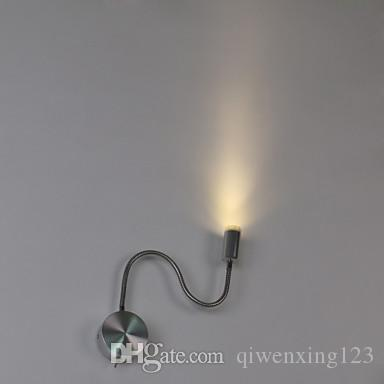 Moden Simply Swing Arm LED Wandleuchte Integrierte Wandleuchte aus Metall für Schlafzimmer Leseleuchte