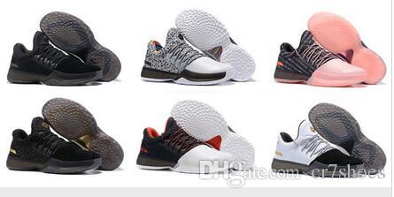 5640cdc45c7e New Harden Vol. 1 Men Basketball Shoes Black White Orange Wholesale ...