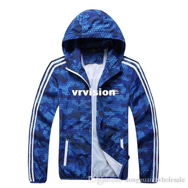 829b97d113e4e High Quality Mens Summer Camouflage Windbreaker Jacket Male Camo ...