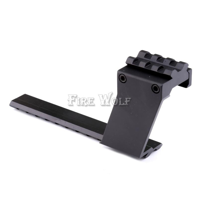 Picatinny Top Bottom Pistol Handgun Scope Mount Sights Luce Laser Accessorio cacciatori Weaver Rail
