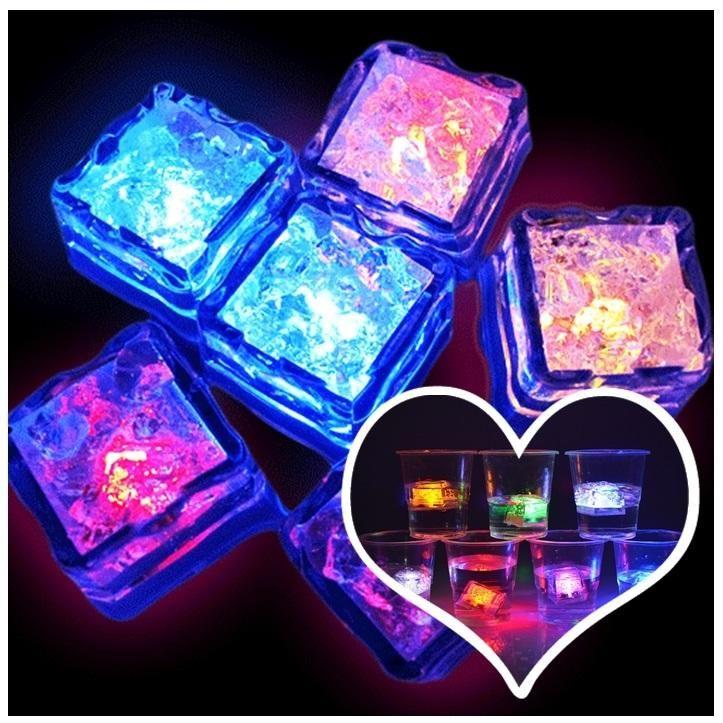Hot Selling Wedding Supplies Decorations Luminous Ice Led Cube