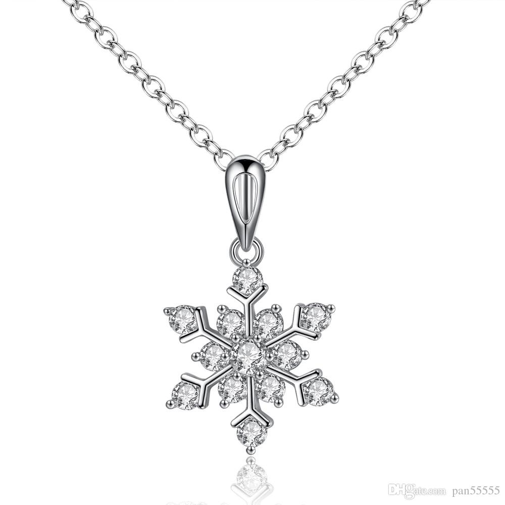 jewelry necklace products pendant dori diamond wallach cherie designs snowflake