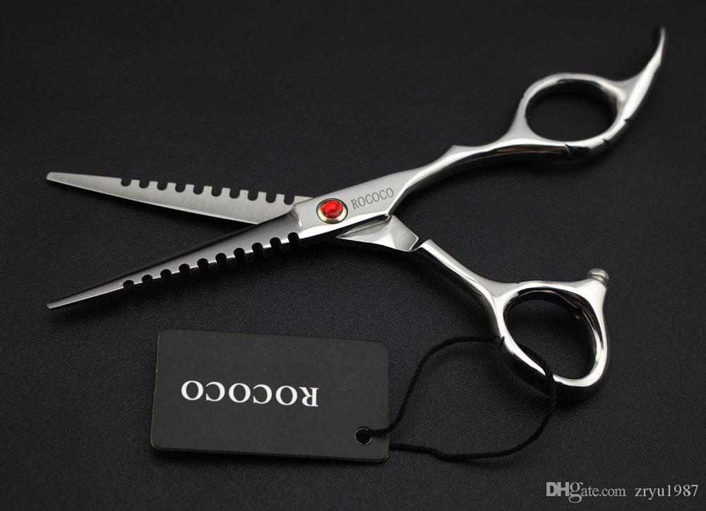 5.5inch hair cutting scissor High Quality Professional Barber Scissors Hairdressing Shears Hair Scissors Salon Equipment Set Hot