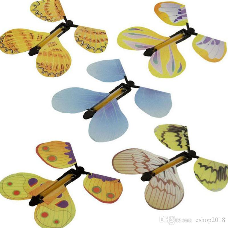 Magic Flyer Butterfly Magical Butterfly Change with Empty Hands Freedom Butterfly Magic Props Magic Tricks free shipping