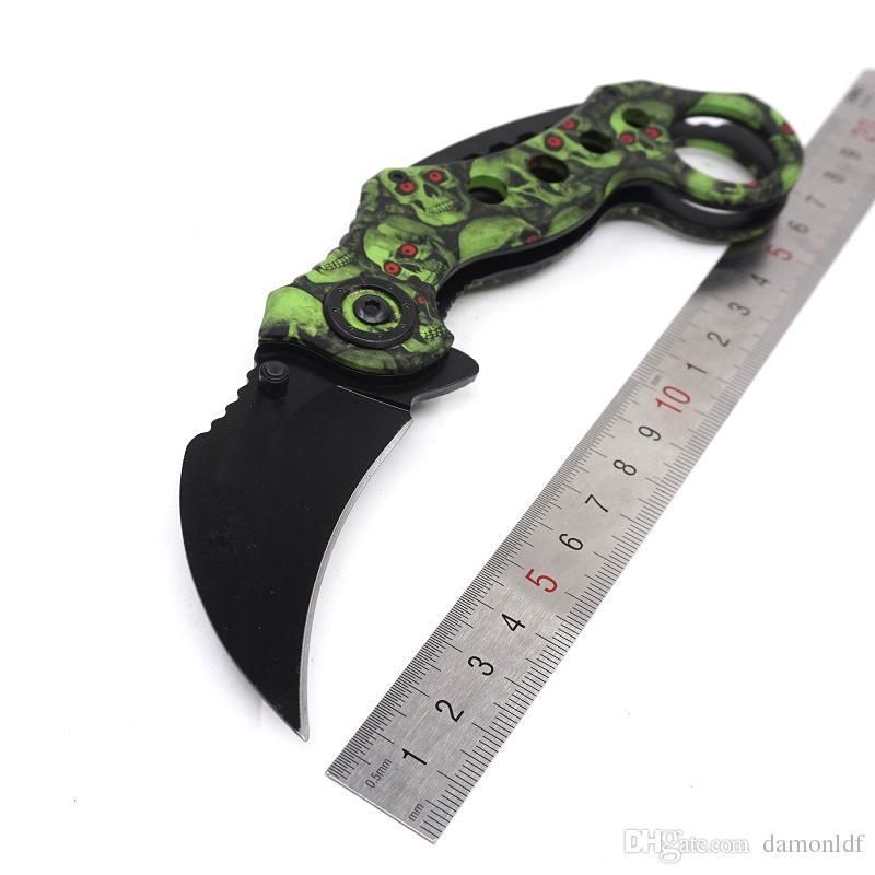 Karambit CSGO Claw Knife Pocket Scorpion Combat Knife 440C Steel Survival Tactical 3 ModelsHunting Camping Tools
