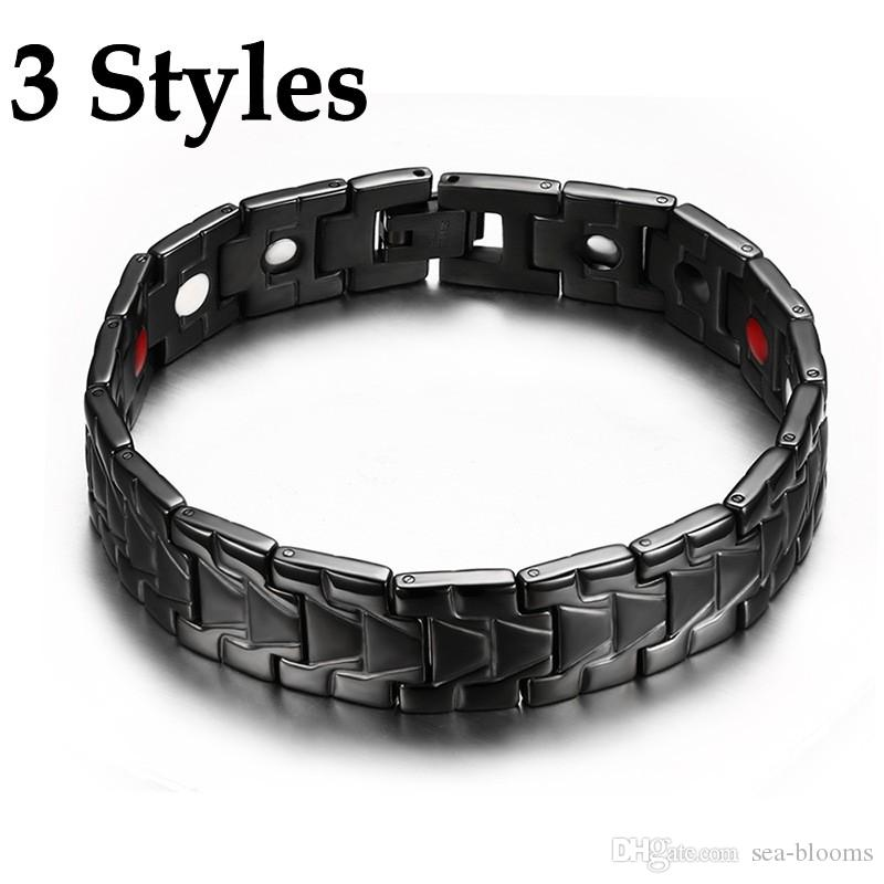 Wristbands Health & Beauty Bio Magnetic Negative Ion Health Energy Anti-fatigue Weight Therapy Bracelets
