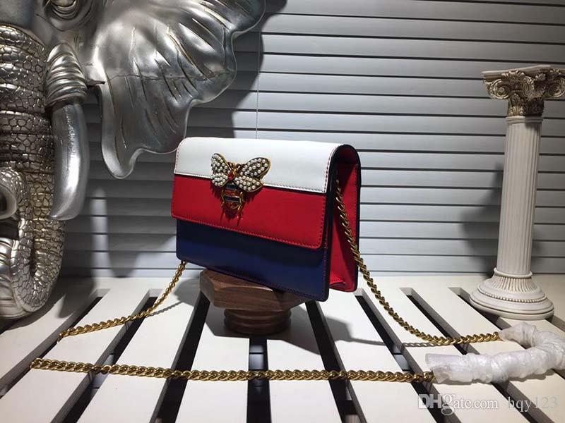 Moda Akşam Çantalar Kadınlar Yüksek kalite marka kadın Omuz çantası Kırmızı düz renk retro tarzı Boyutu 20 * 13 * 3.5 cm model 162419469