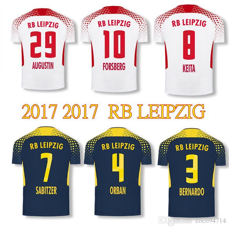 2019 2017 2018 RB LEIPZIG Soccer Jerseys Home Away KEITA WERNER ... 28b88af80