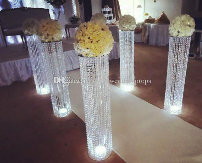 Wholesale Acrylic Crystal New Aisle Stands Walkway Stand