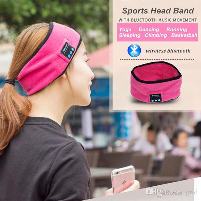 HOT SALE sport yoga dance headband Hat Smart Bluetooth Wireless Headphone Headset hands 2017 new woman men hat