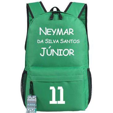 Super Neymar Backpack Football Star Daypack Fans School Bag Soccer ... 25d1063211