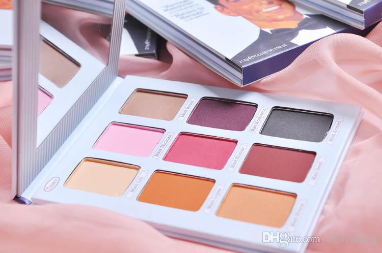 FACTORY PRICE! Matte Eyeshadow eyeshadow Palette Palette d'ombres a paup'eres mat i Eye makeup palette EXPORT QualityColor POP Eye sha