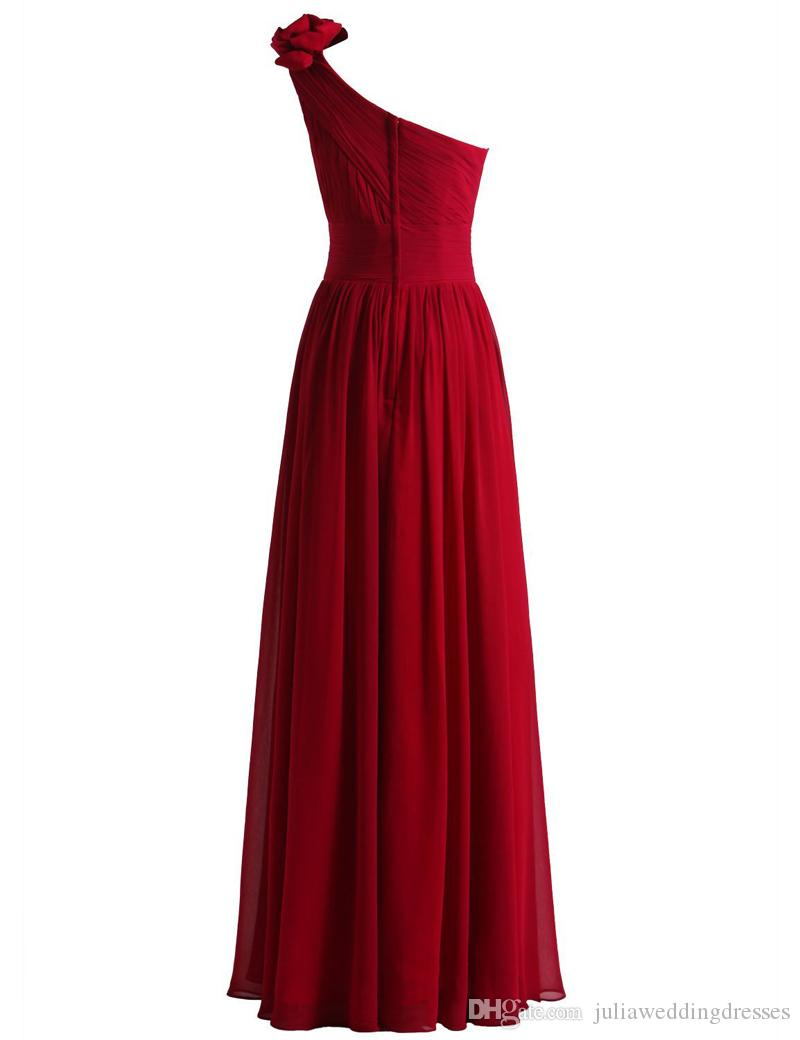 New Cheap Red Evening Prom Dresses 2017 With Beaded Crystal Formal Party Special Occasion Dresses QC369