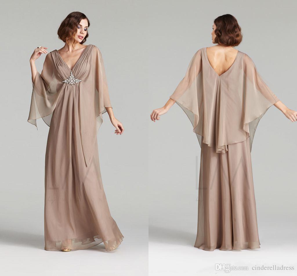 Elegante günstige kaftan abaya arabische abendkleider 2020 chiffon a linie mit perlen long formal plus größe mutter braut kleid kämpfe benutzerdefinierte