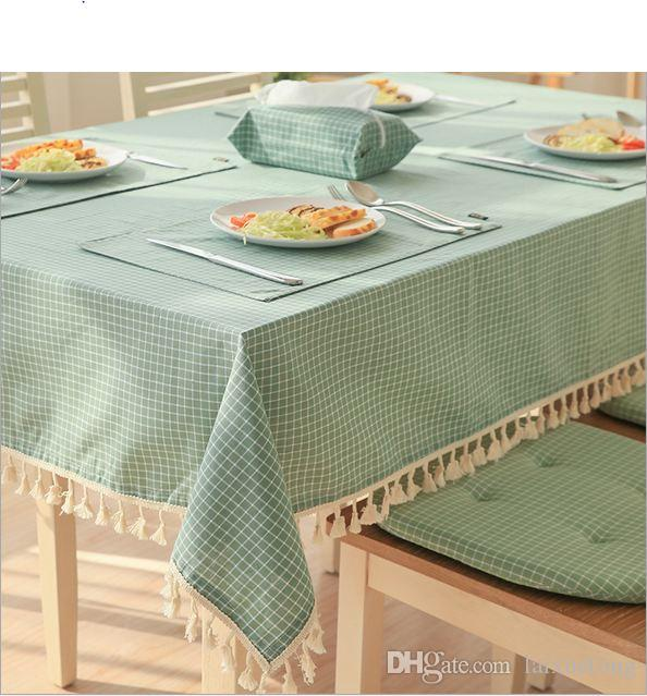 2017 Hot Style Japanese Idyllic Cotton Hemp Contracted Color Tablecloth  With A Rectangle Of Table Cloth Linen Table Cloth Table Cloth Clips From  Laixuetong, ...