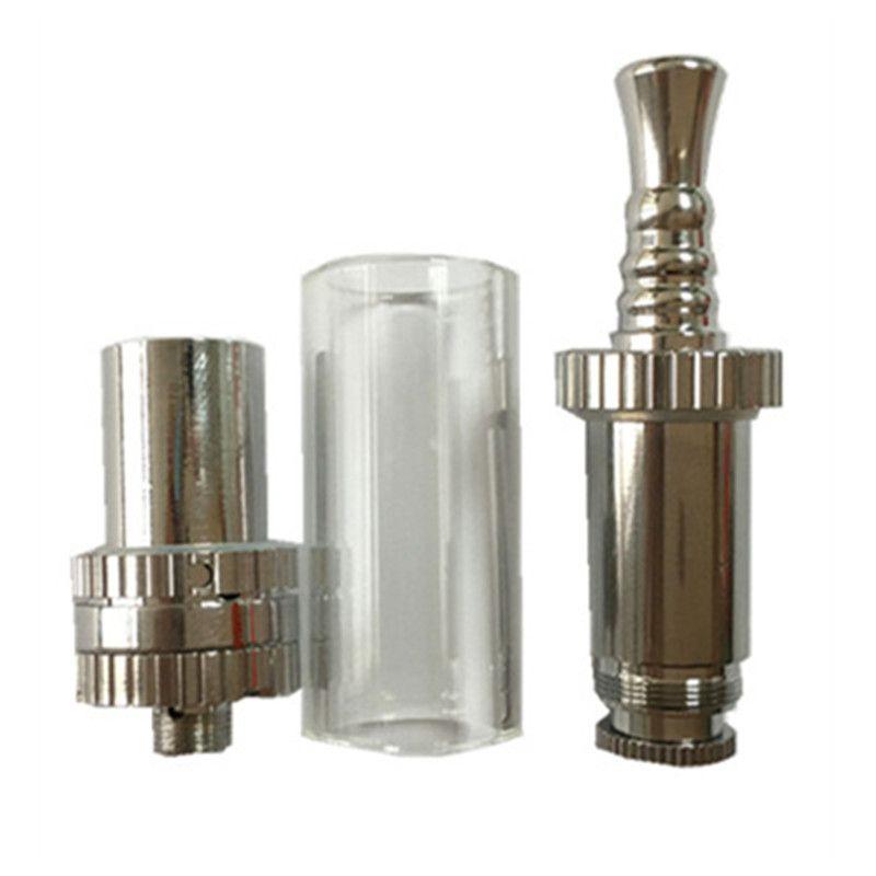 Electronic Cigarette H1 Glass Tank Dry Herb Ceramic Atomizer for VX30 Vapor Storm Box Mod Vape Battery e cigarette Starter Kit