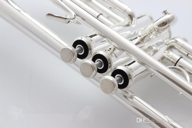 Americani Bach tromba d'oro e argento placcato AB-190 in argento placcato Bach piccoli strumenti musicali professionali
