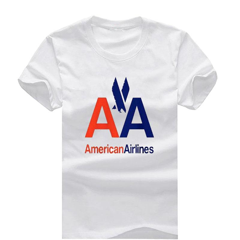 American Airlines New Fashion Men S T Shirts Short Sleeve