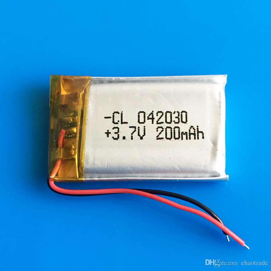 3.7 в 200 мАч аккумуляторная батарея 402030 LiPo Li-polymer с защитой borad power для мини-динамик Mp3 Bluetooth рекордер наушники гарнитура