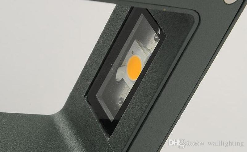 Nowoczesne 6W LED Ogród Światła Wodoodporna Balkon Wodoodporny Wall Lampy Outdoor Wall Lampy Ganek Lights AC85-265V Darmowa Wysyłka