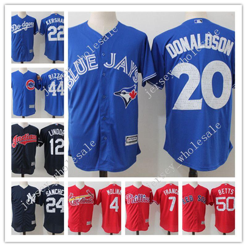 0e3928df3 ... flex base jersey 032b2 34487  clearance 2017 new toronto blue jays 20 josh  donaldson mens mlb baseball jerseys 100 stitched 2017