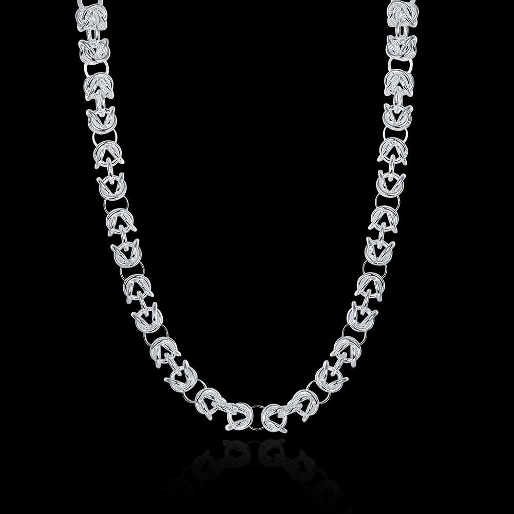 Wholesale 925 Sterling Silver Plated Faucet Necklace Lknspcn060 Mens ...