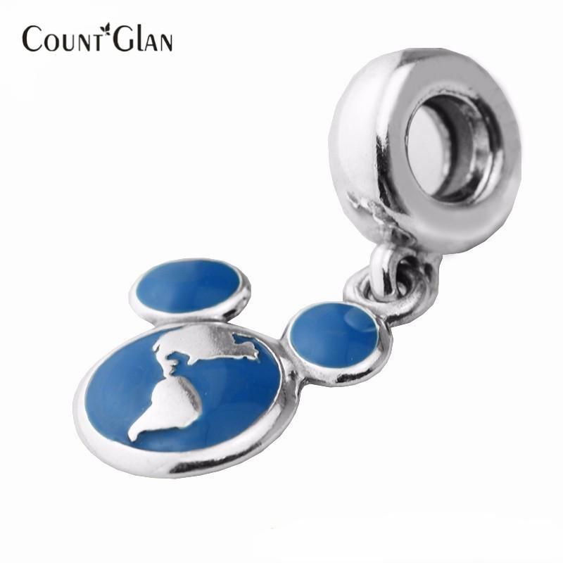 Passt Pandora Armbänder Urlaub Club Silber Perlen Original 100% 925 Sterling Silber Charms DIY Frauen Schmuck großhandel