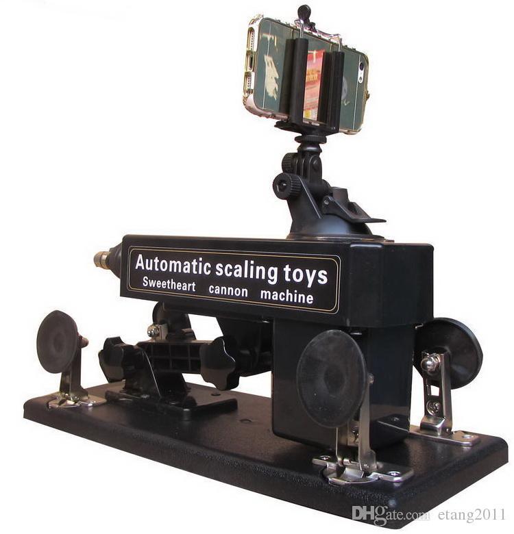 자동 섹스기구 건 / 캐논 큰 딜도 라구 딜도 섹스 가구 자위 기계 여성 이동 속도 0-450 / 분 리모콘