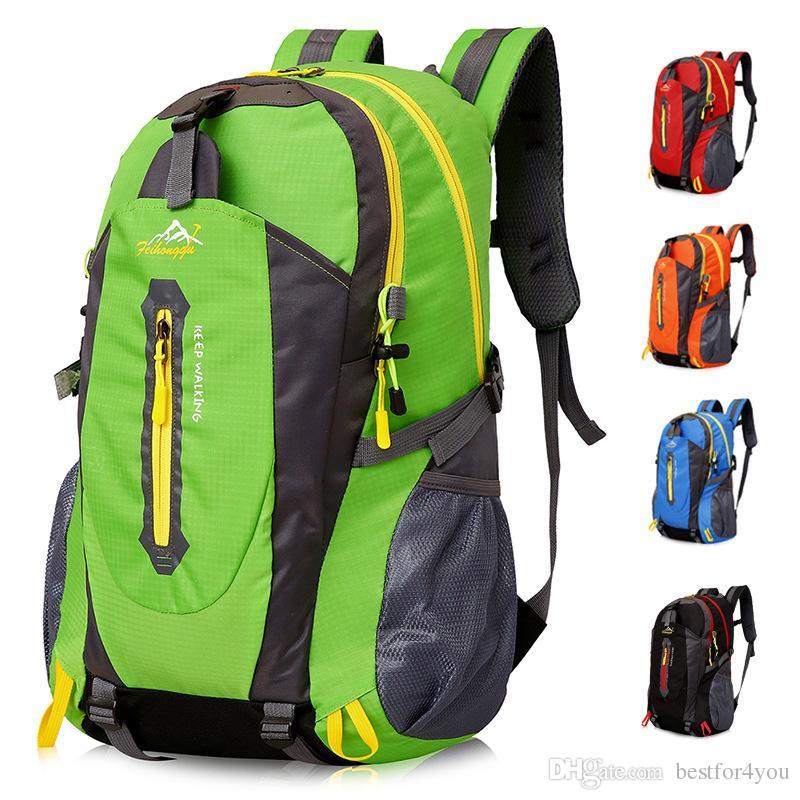4309336272 2019 40L Hike Waterproof Backpack Travel Shoulder Bag Man Women Outdoor  Mountaineering Bag Small Hike Shoulder Bag DHL From Bestfor4you