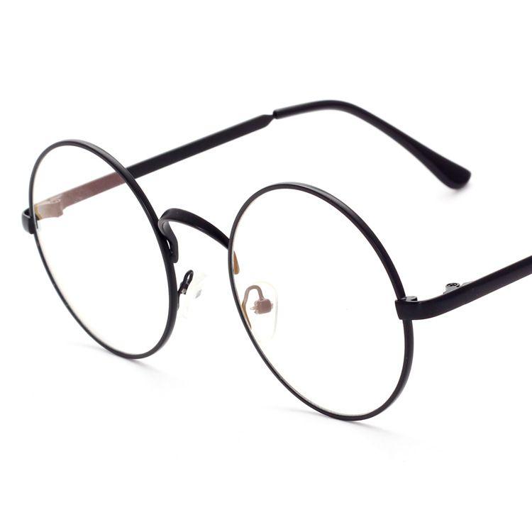 08901f3ab Compre Harry Potter Óculos Lentes De Computador Armação De Metal Redondo  Óculos Mulheres Homens Anti Azul Óculos De Grau Óculos Transparentes De  Liqodoi, ...