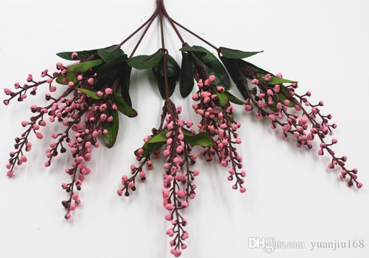 Simulation plastic flower flower flowers home decoration simulation flower pots accessories auspicious fruit