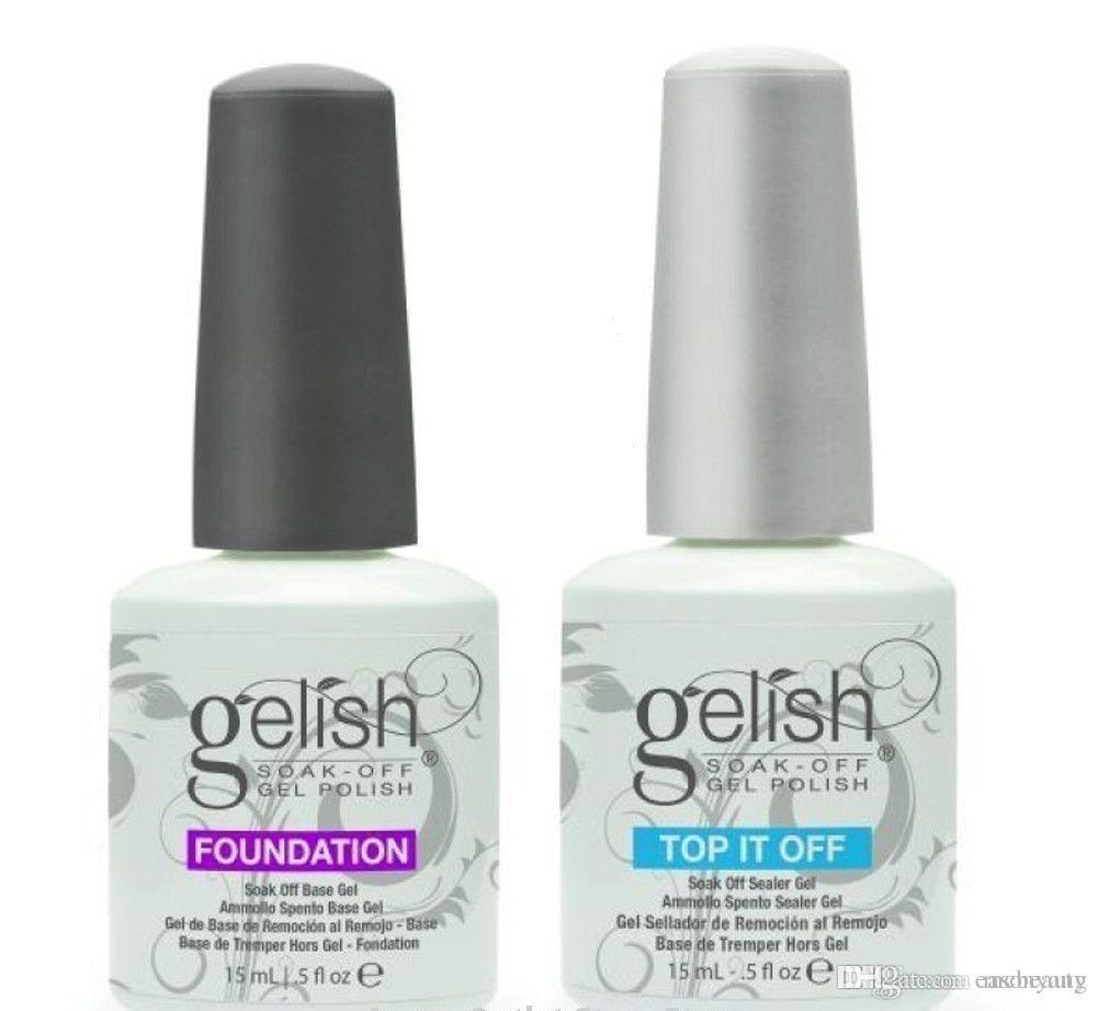 High Quality Soak Off Color Led & Uv Gel Nail Polish Gelish Gel Glue ...