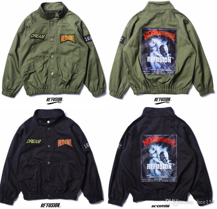 Refusion Original Nasa Jacket Men Bomber Ma1 Men Bomber Jackets ...