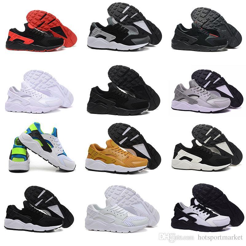 f5f03f9c61 Compre Air Huarache Ultra Sapatos De Corrida Triplo Preto Branco Huraches  Running Trainers Para Homens Mulheres Sapatos Ao Ar Livre Huaraches Tenis  Hurache ...