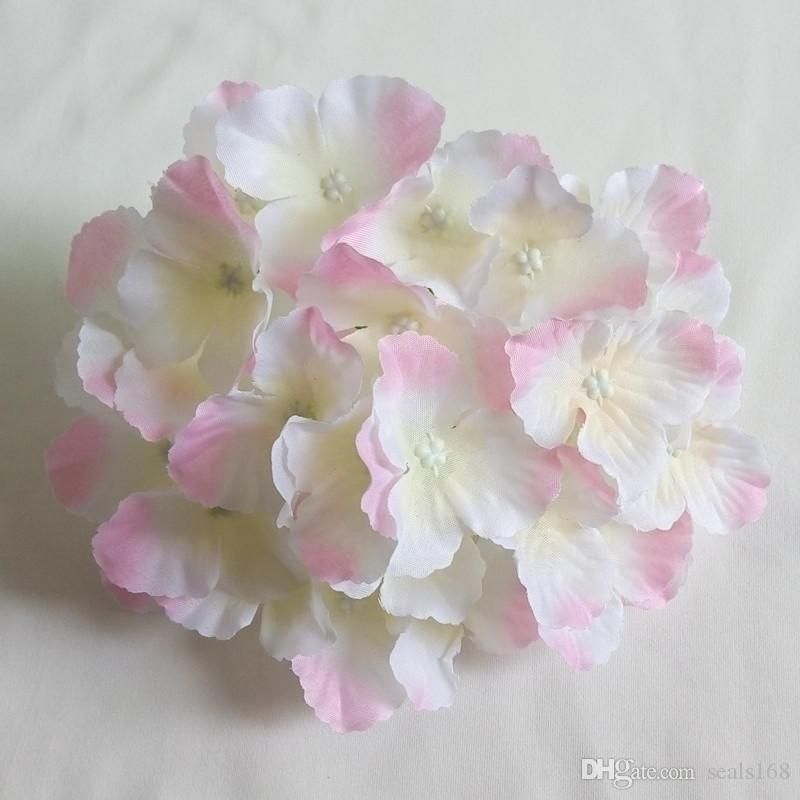 Fleurs artificielles hortensia capitules de soirée de mariage Décoration Fournitures Simulation Faux Corolle Accueil Décorations HH7-165