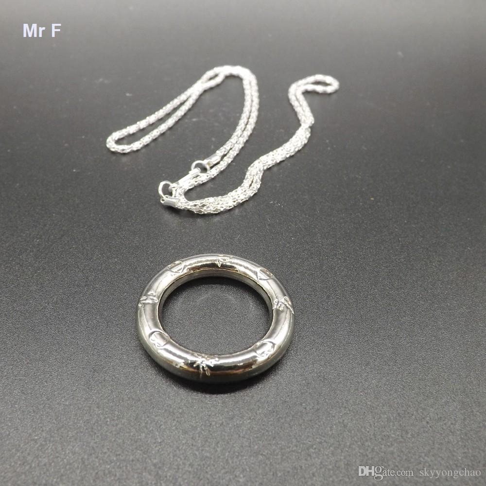 Funny Metal Wire Puzzle Chain Ring Logic Mind Brain Teaser ...