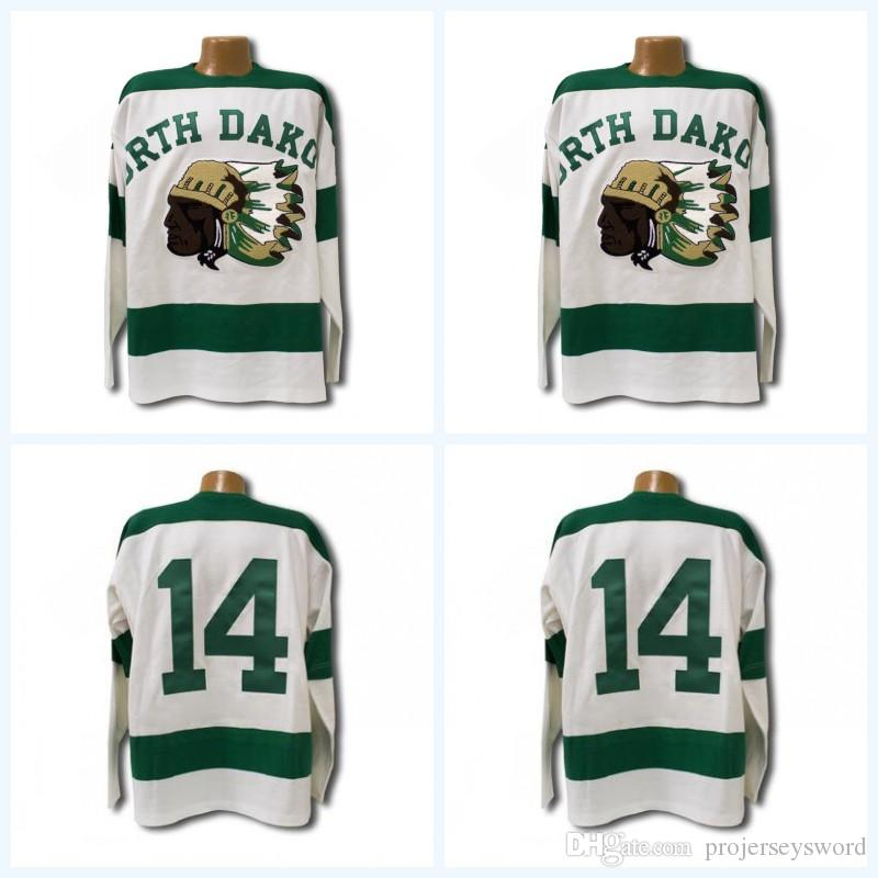 2019 1954 North Dakota Sioux Jersey Men S 100% Stitched Fighting Sioux  DAKOTA Hockey Jerseys Any Name And Any Number From Projerseysword d5f95dca4
