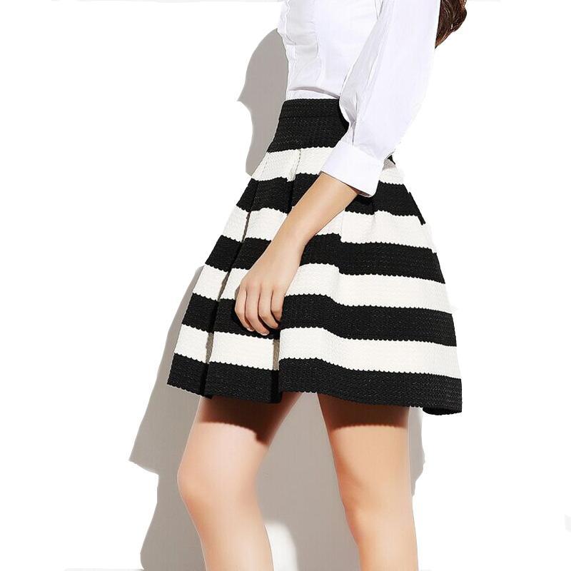 2018 summer skirts womens new 2017 saia faldas high waist