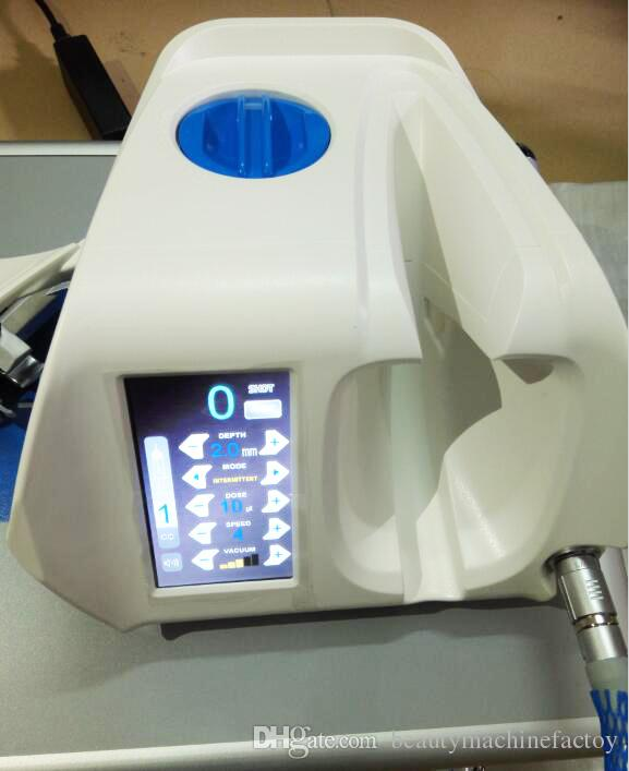 CE Approved 2017 Korea facial skin nutrient injection vacuum meso injector gun for mesotherapy injection gun price