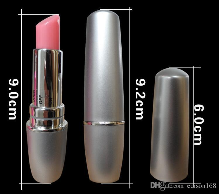 Senaste Kvinnliga Diskret Mini Lipsticks Bullet Vibrator Clit Vibrerande Hopp Ägg Vibrationer Kvinnor Onani Produkt BDSM Sexleksaker