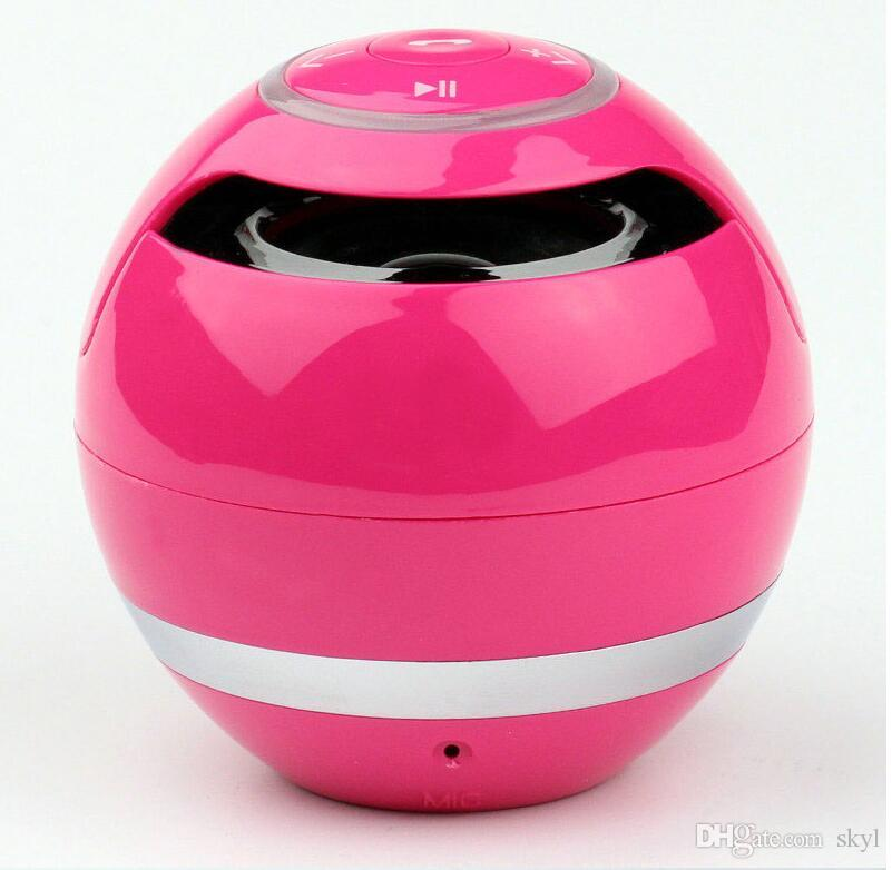 hot sale YST-175 Mini colorful Ball Portable Bluetooth Wireless speakers Super Bass Stereo Handsfree subwoofer Mic TF Card LED Light DHL