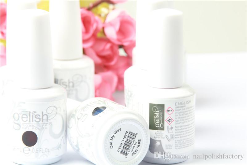 Nail supplies beauty product in vietnam best quality Harmony gelish color gel polish soak off uv gel