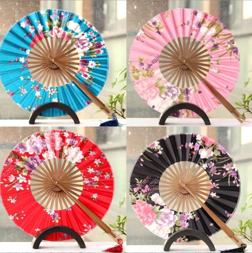 2019 The Windmill Japanese Folding Circular Fan Wedding